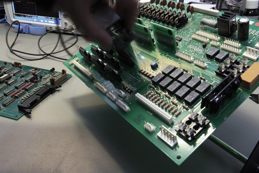 SMT components soldering