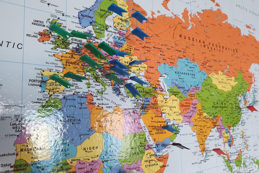 Grafitronic levert wereldwijd onderdelen